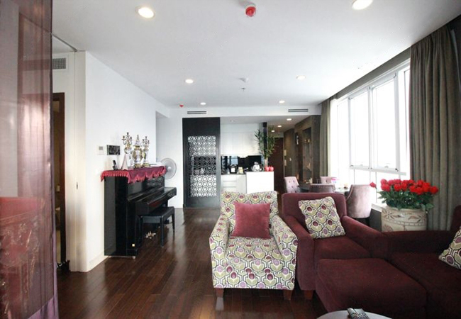 Apartment for rent in Lancaster, 20 Nui Truc Street, Ba Dinh District