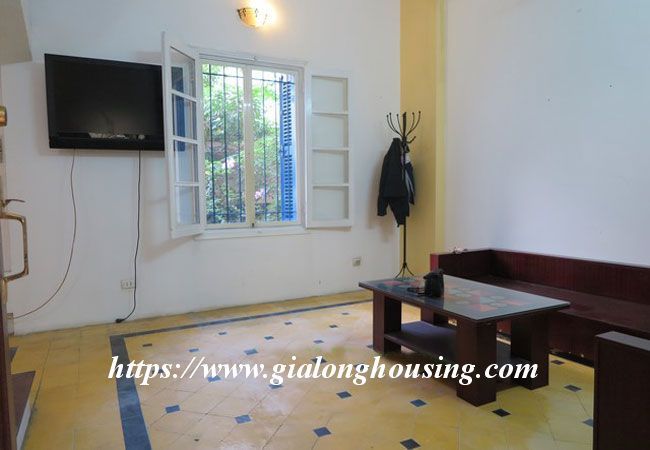 Bright house in Doi Can for rent, partial furnished 8