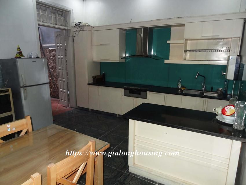 Fully furnished house in Thuy Khue, Ba Dinh for rent 7