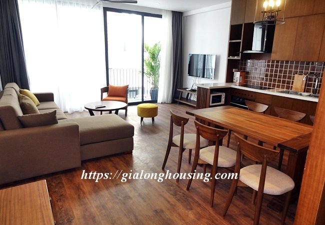 Brand new serviced apartment in Tay Ho street, near Xuan Dieu 4