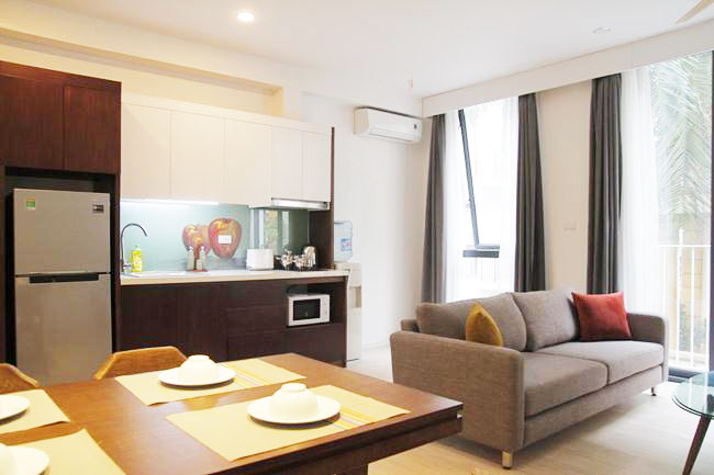 Brand new serviced apartment in 535 Kim Ma