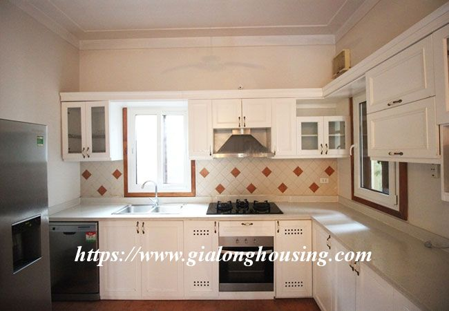 Fully furnished house in To Ngoc Van for rent, 5 bedrooms 5