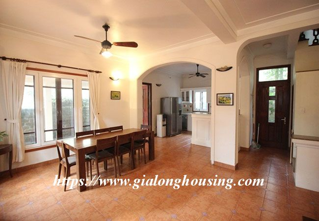 Fully furnished house in To Ngoc Van for rent, 5 bedrooms 8