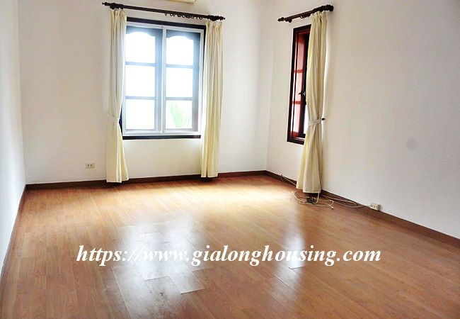 Unfurnished nice house for rent in To Ngoc Van 8