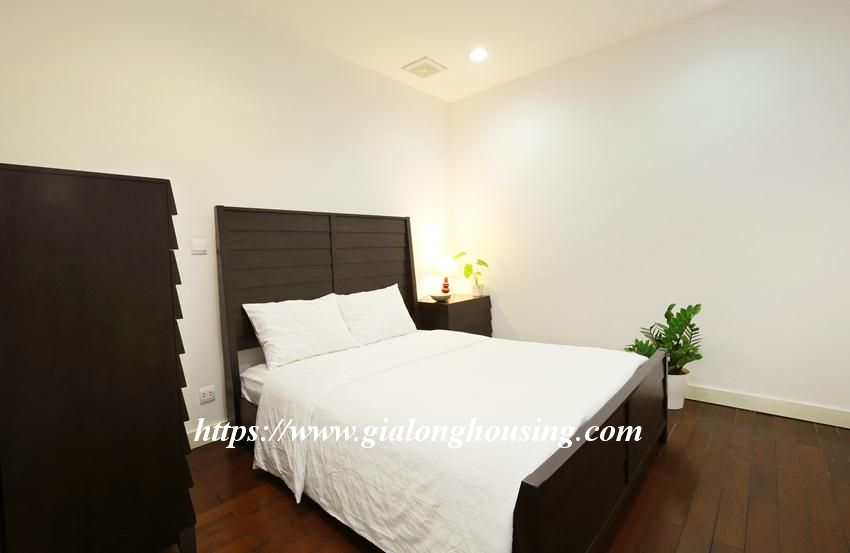 Furnished apartment in high floor of Lancaster Nui Truc, 2 bedrooms 4