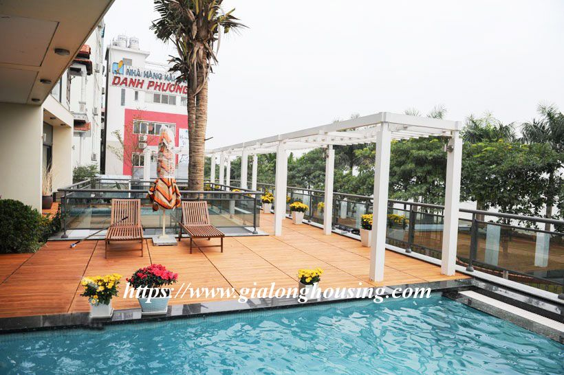 Swimming pool villa with luxurious furniture for rent 5