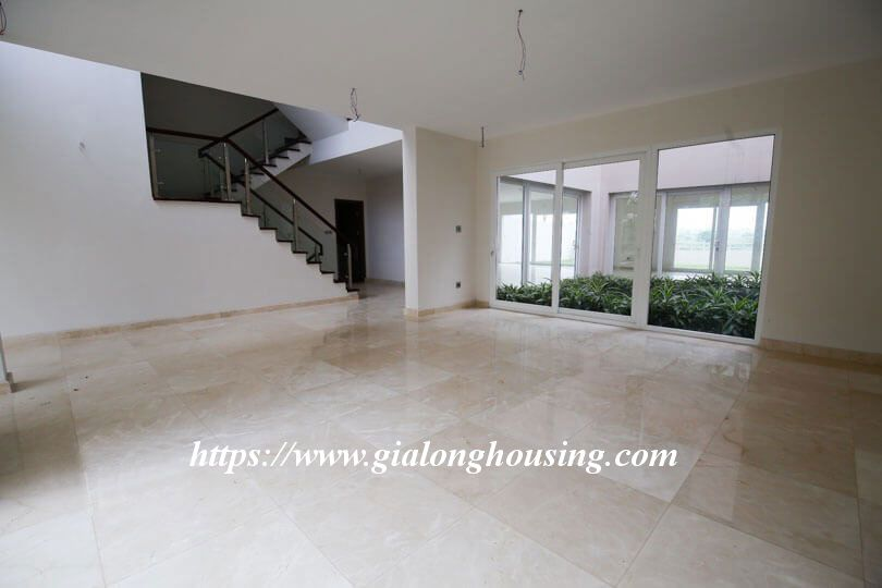 Unfurnished huge villa in Ciputra, Q block for rent 5