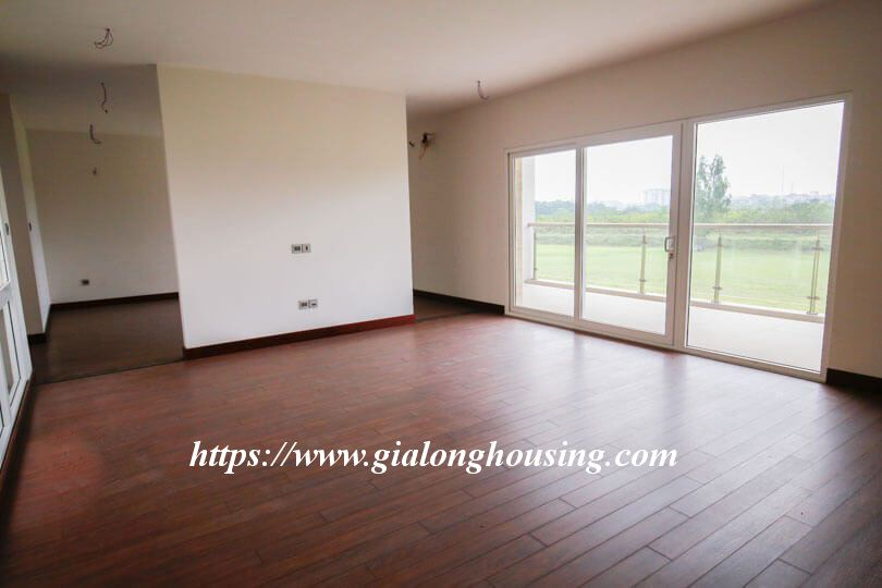 Unfurnished huge villa in Ciputra, Q block for rent 4