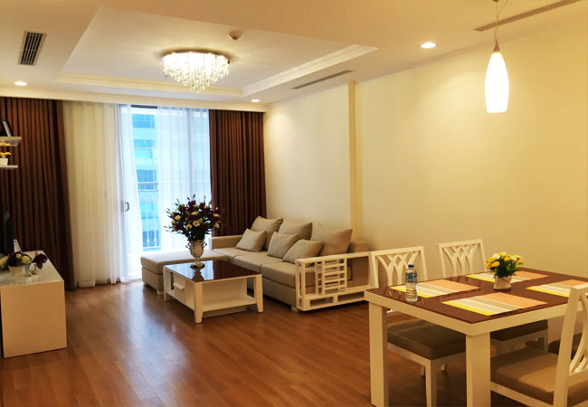 Bright 2 bedroom apartment in Vinhomes Nguyen Chi Thanh for rent