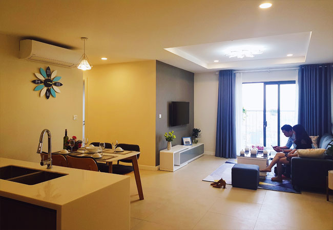 Splendidly furnished 02 bedroom apartment for rent in Kosmo Tay Ho