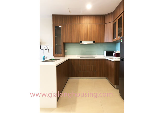 Brand new and modern 02 bedroom apartment for rent in Kosmo Tay Ho 7